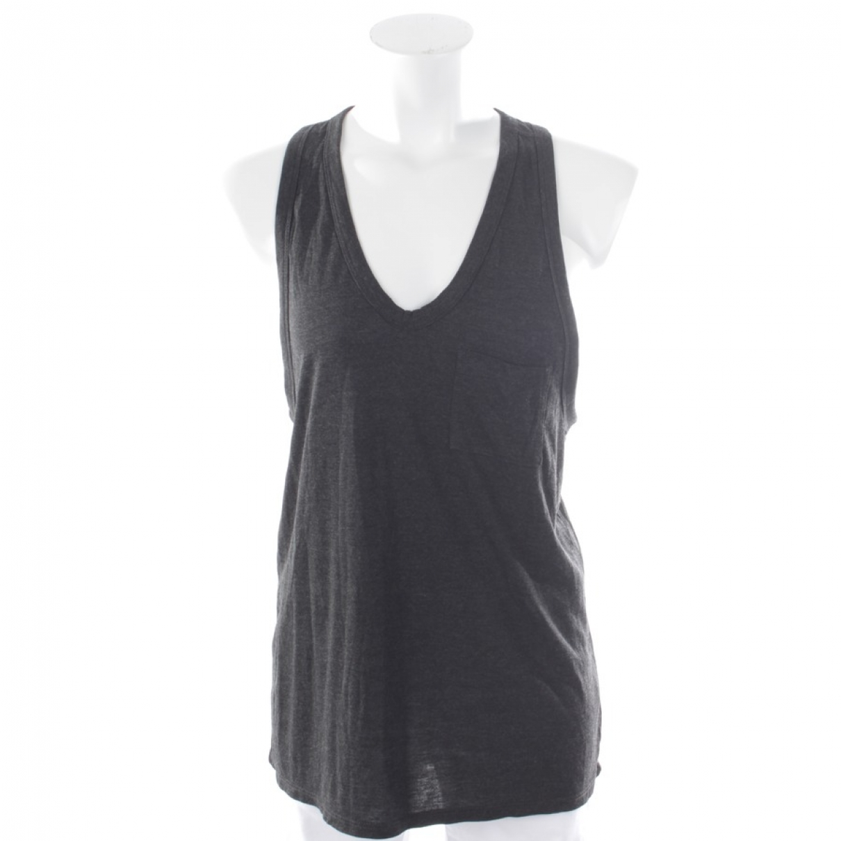 Alexander Wang \N Top in  Grau Baumwolle