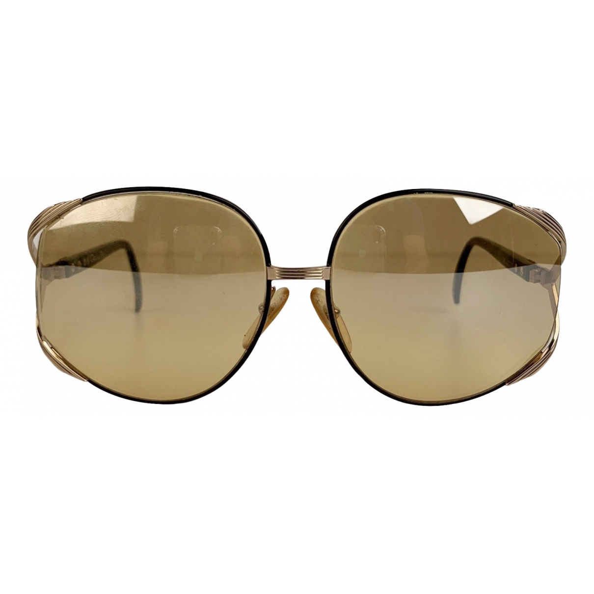Dior \N Brown Metal Sunglasses for Women 42 FR