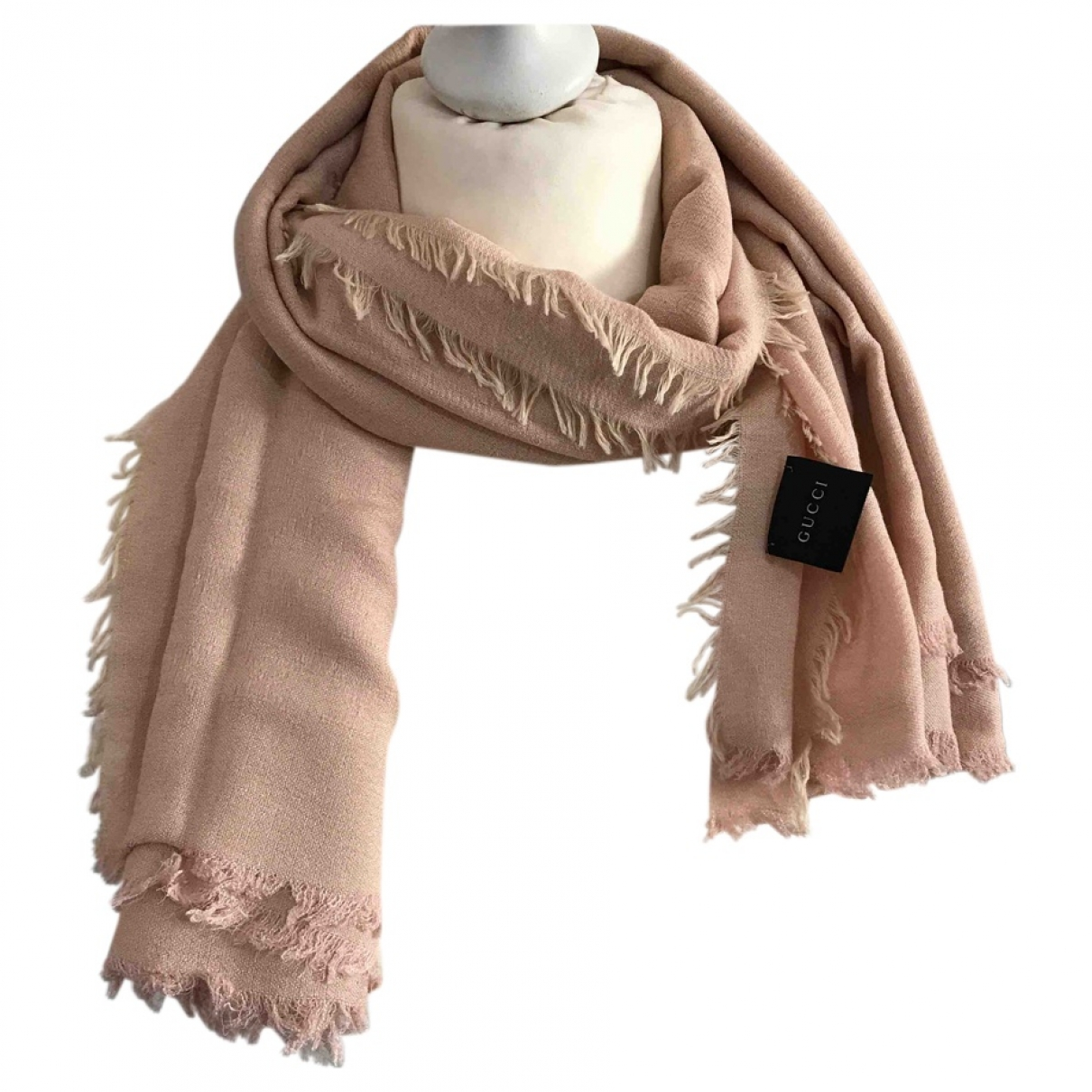 Gucci \N Pink Cotton scarf for Women \N