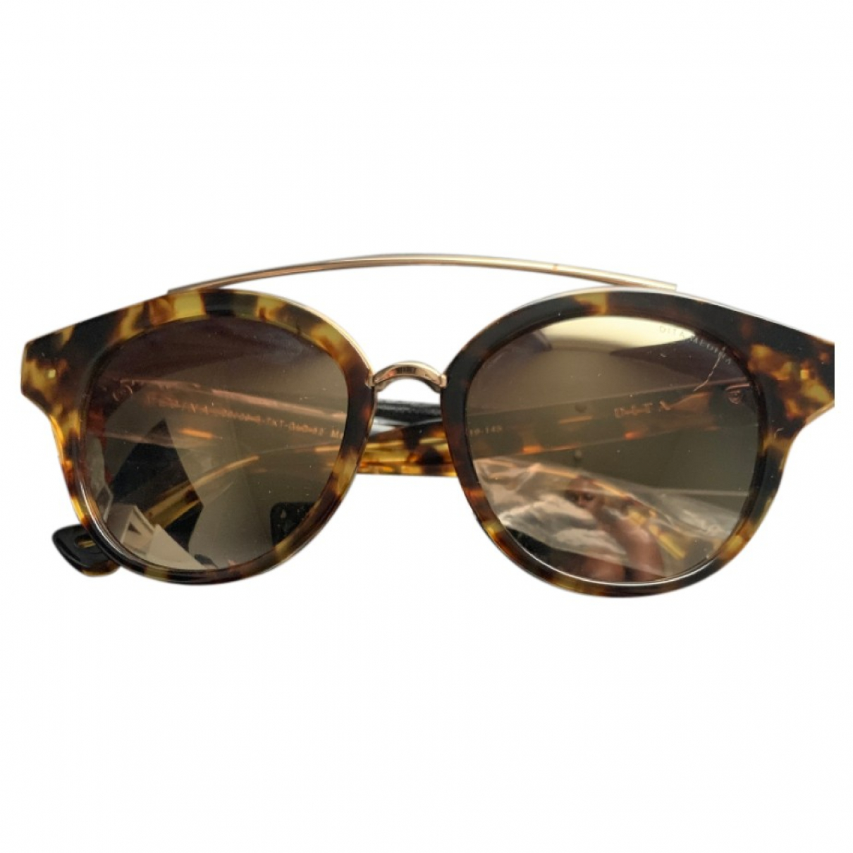 Dita \N Sonnenbrillen in  Braun Kunststoff