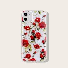 iPhone Schutzhuelle mit Blumen Muster