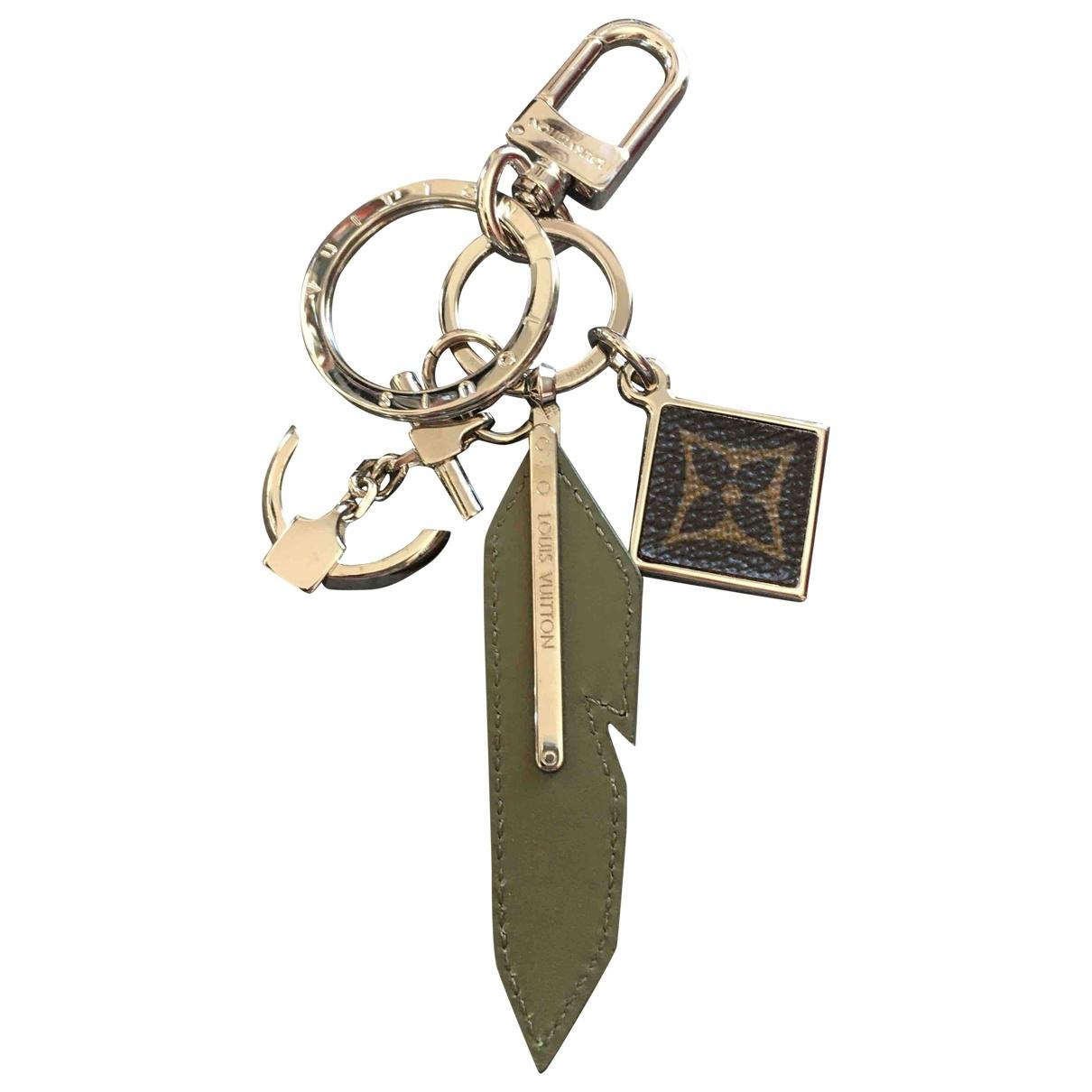 Louis Vuitton - Bijoux   pour homme en metal - kaki