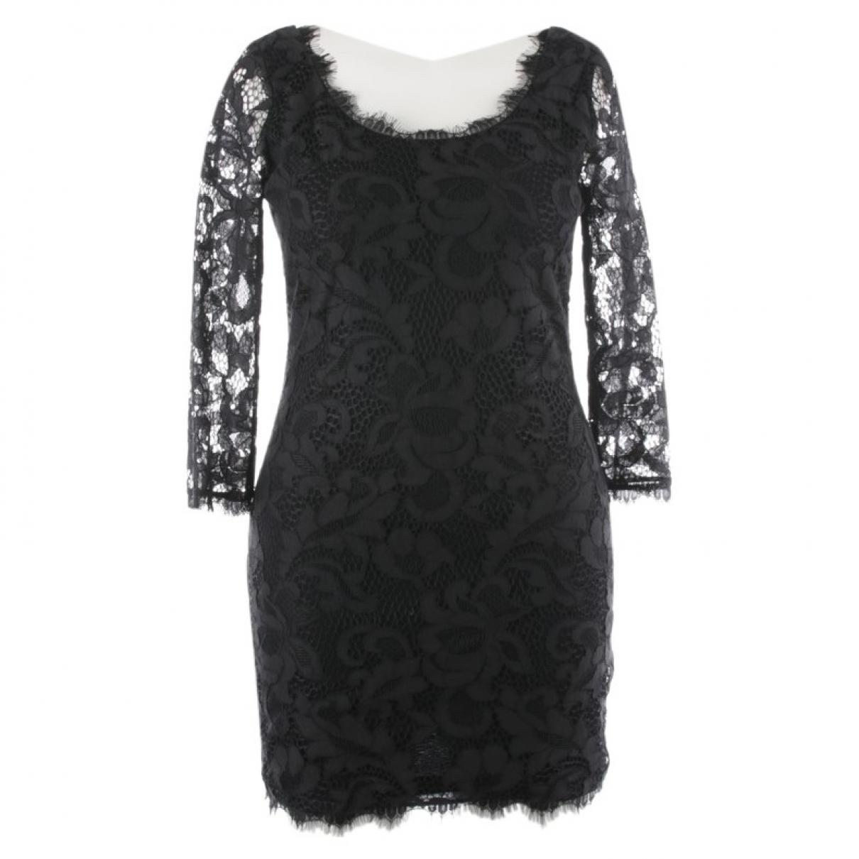 Diane Von Furstenberg N Black Cotton dress for Women 40 FR