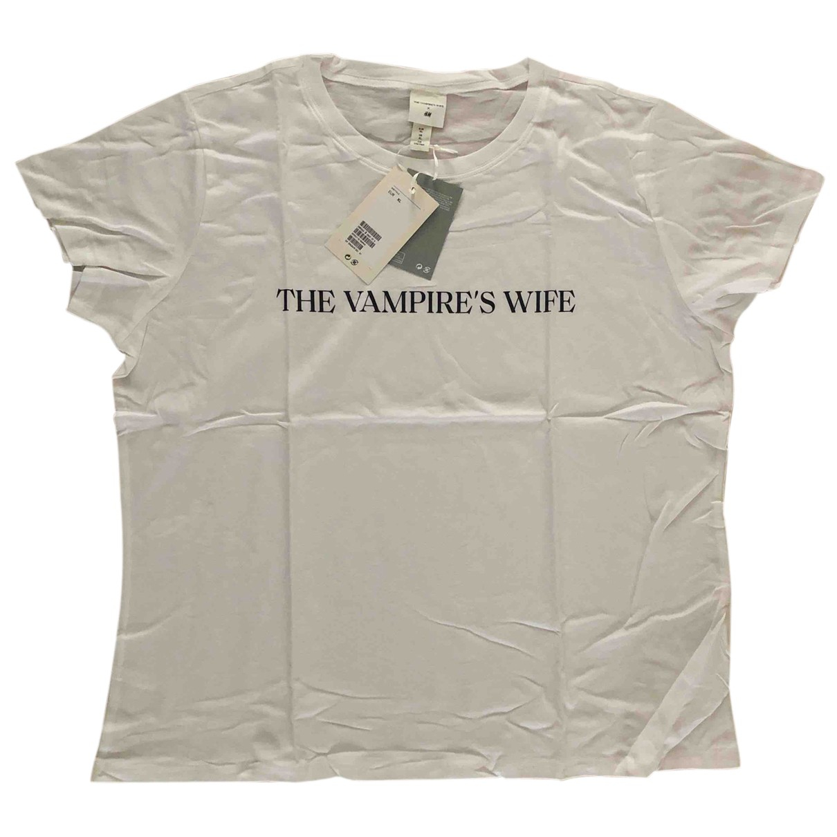 The Vampires Wife X H&m - Top   pour femme en coton - blanc