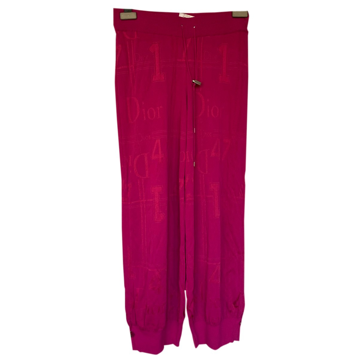 Christian Dior N Pink Trousers for Women 40 FR