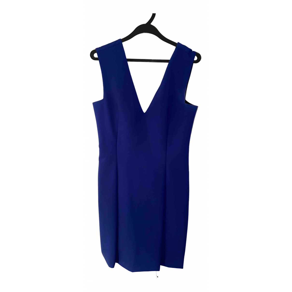 Zara \N Kleid in  Blau Synthetik