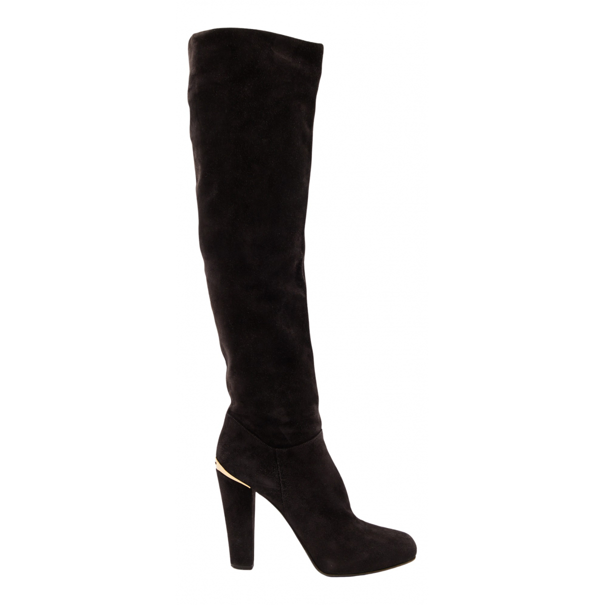 Le Silla N Brown Suede Boots for Women 40 EU