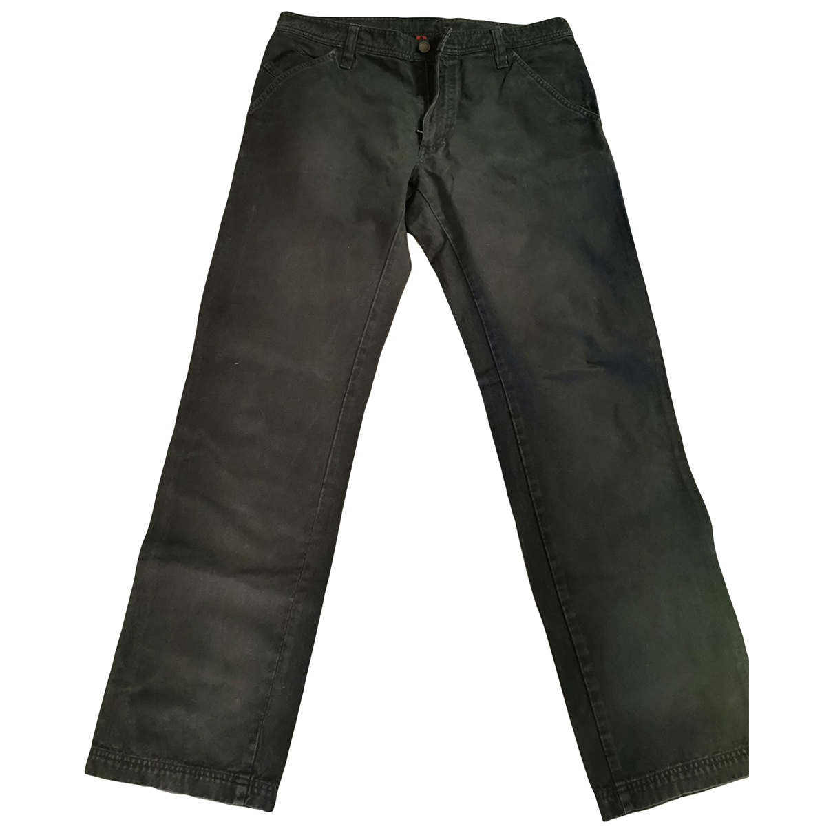 Dolce & Gabbana \N Anthracite Cotton Trousers for Men 48 IT