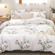 Flower Print Bedding Sets Without Filler