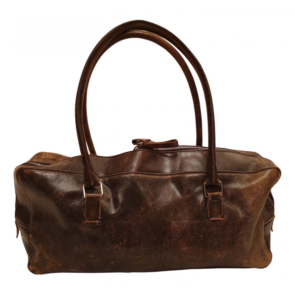 Miu Miu N Brown Leather handbag for Women N