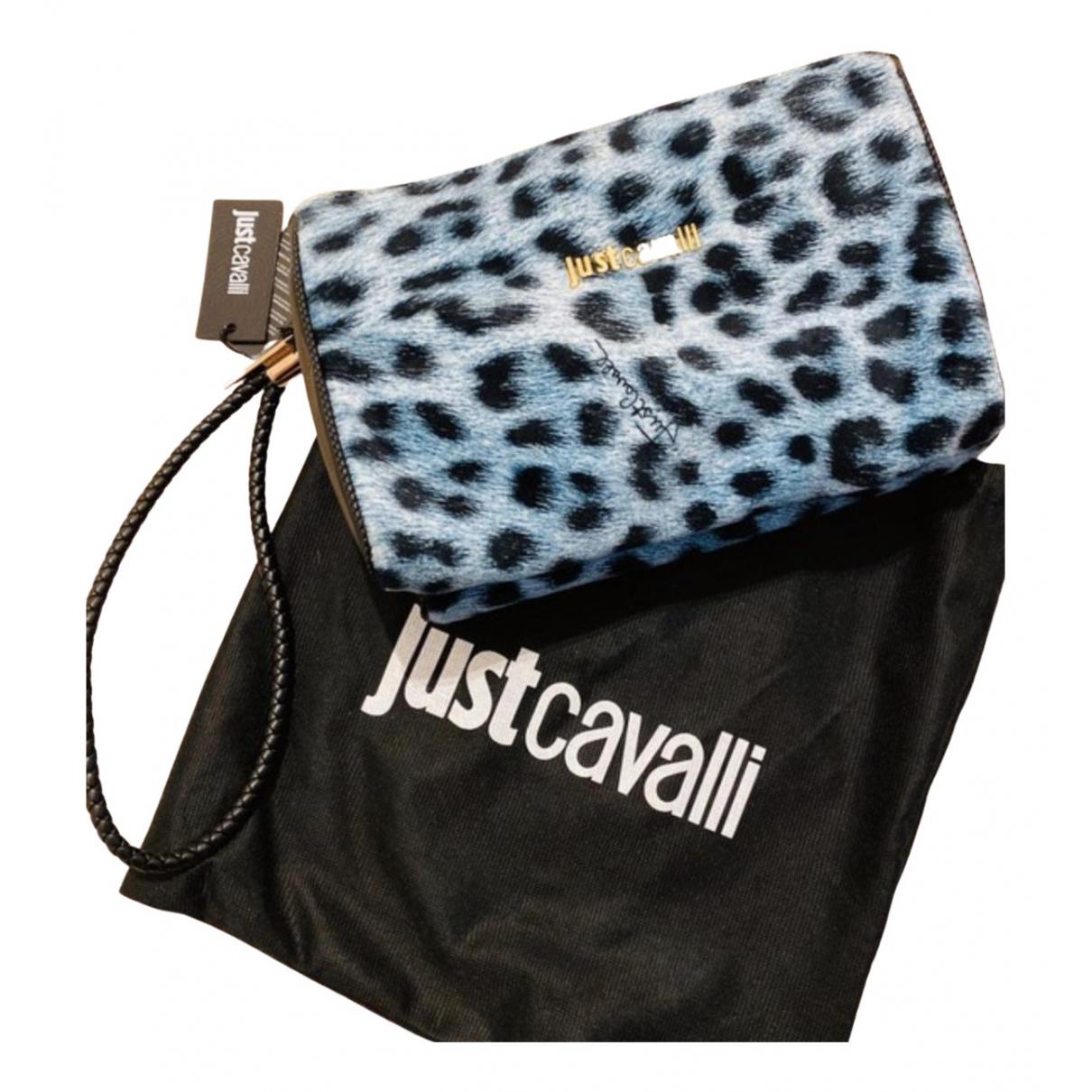 Just Cavalli \N Clutch in  Bunt Leder