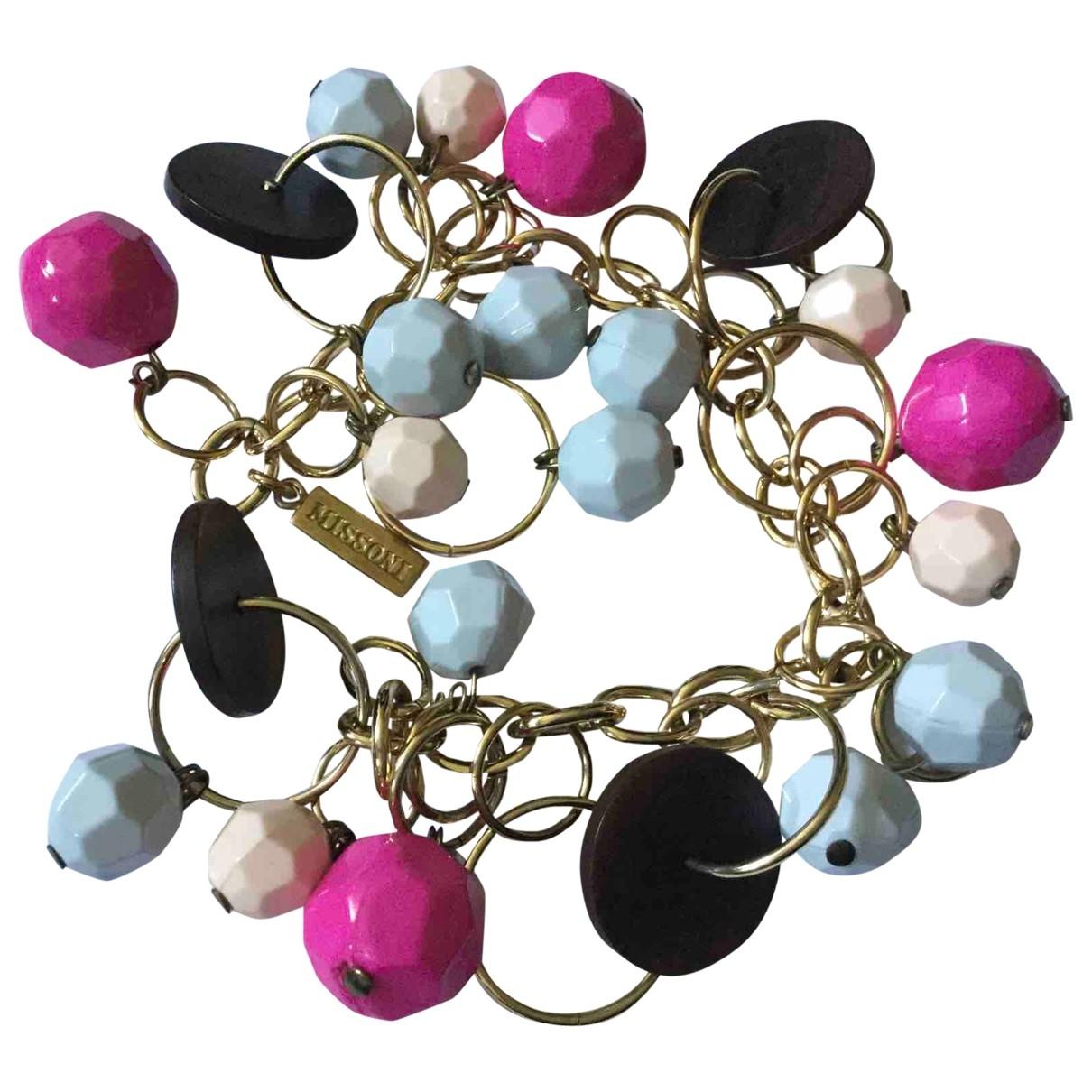 Missoni - Bracelet   pour femme en metal - multicolore