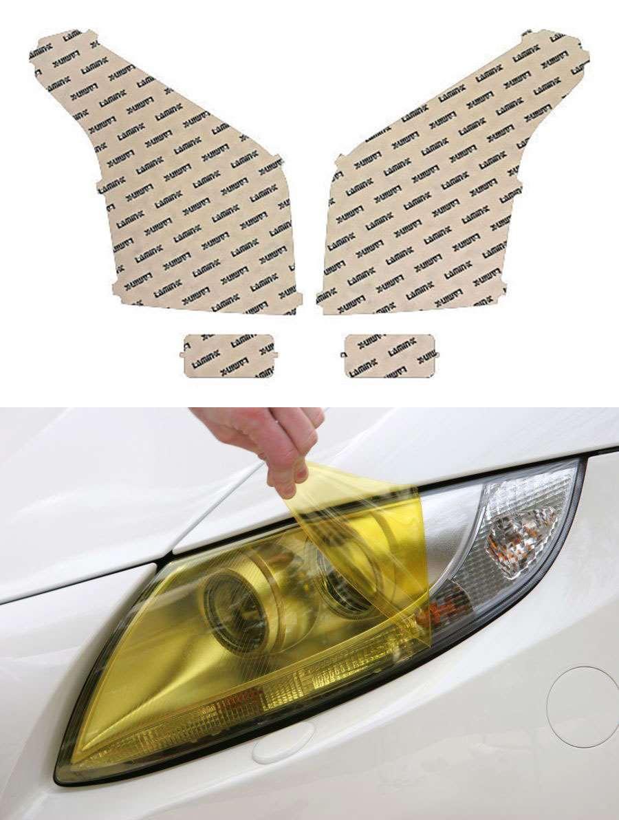 GMC Yukon 15-18 Yellow Headlight Covers Lamin-X G016Y