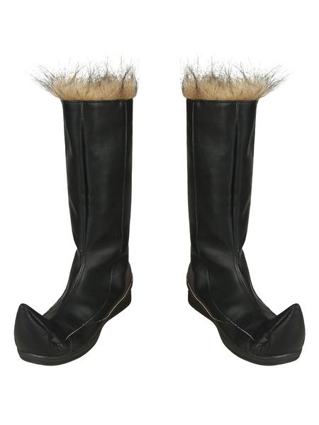 Milanoo Frozen 2 Cosplay Kristoff Boots Film Cosplay Footwear