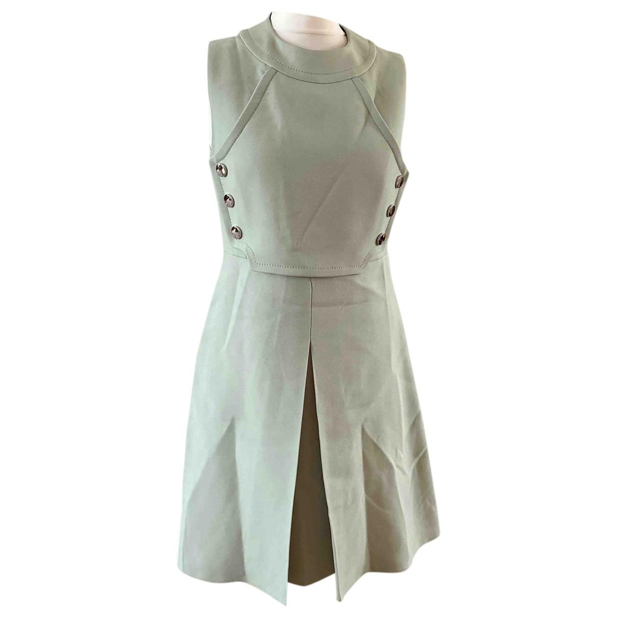 Gucci \N Green Wool dress for Women 44 IT