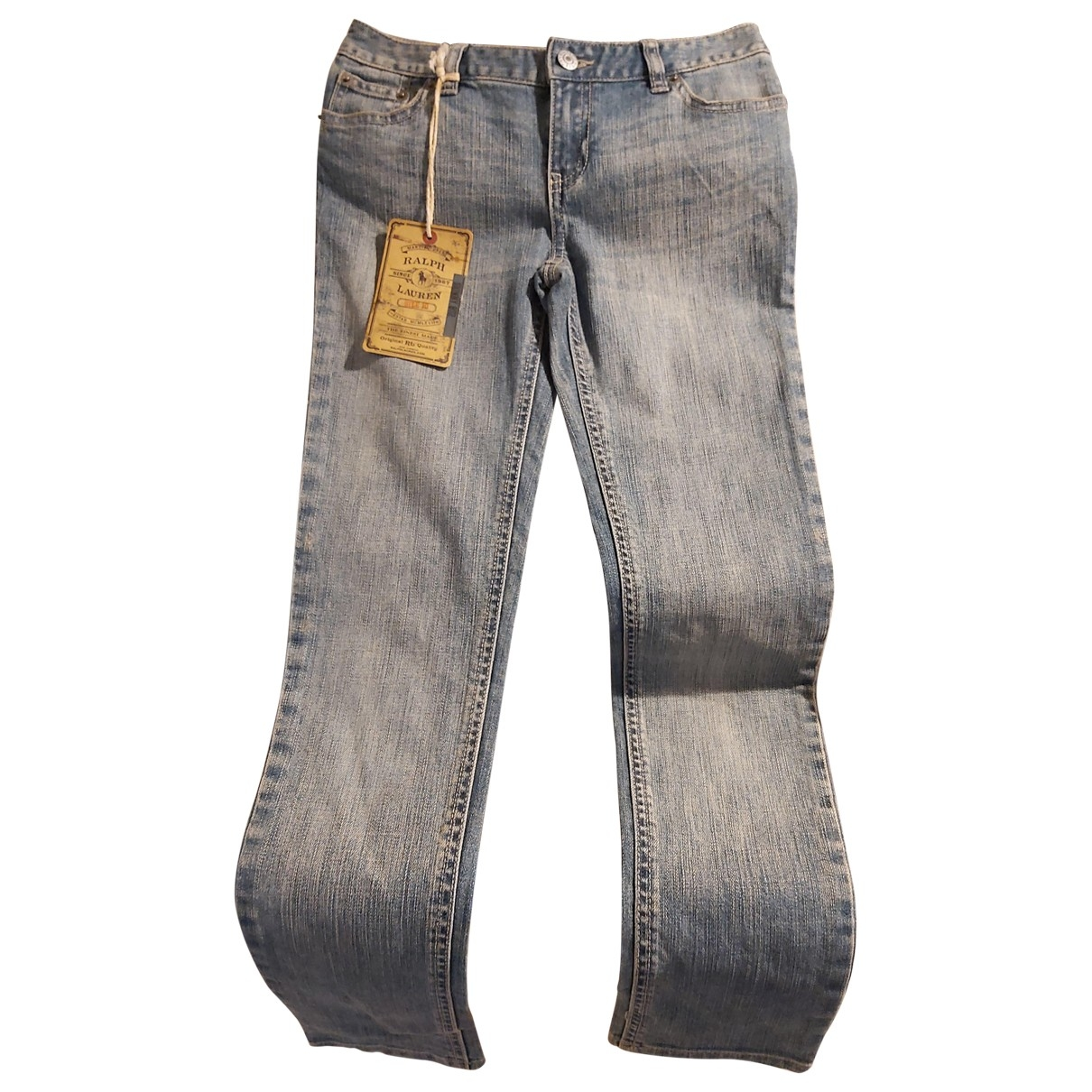 Ralph Lauren \N Blue Cotton Jeans for Women 26 US
