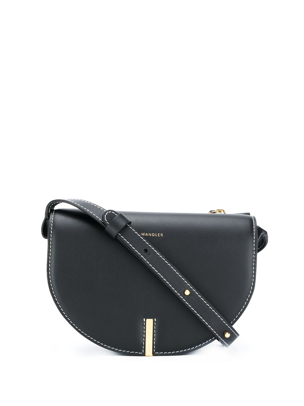 Nana Leather Crossbody Bag