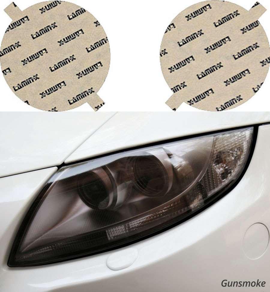 Mazda Miata 89-97 Hella style Gunsmoke Headlight Covers Lamin-X M002EG