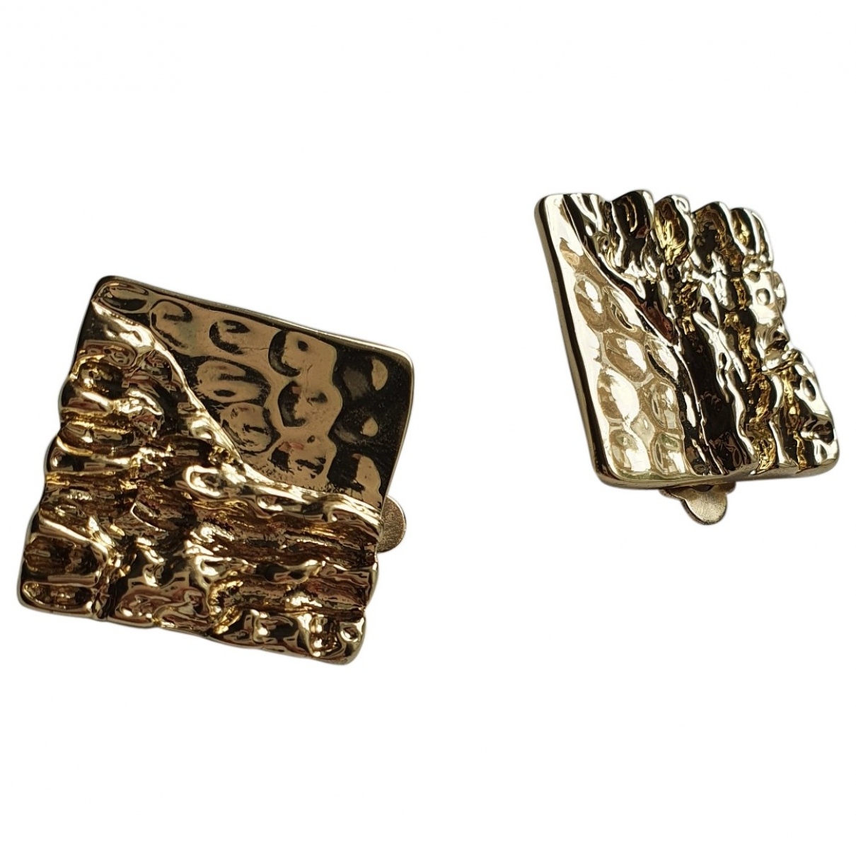 Uterque \N Gold Metal Earrings for Women \N