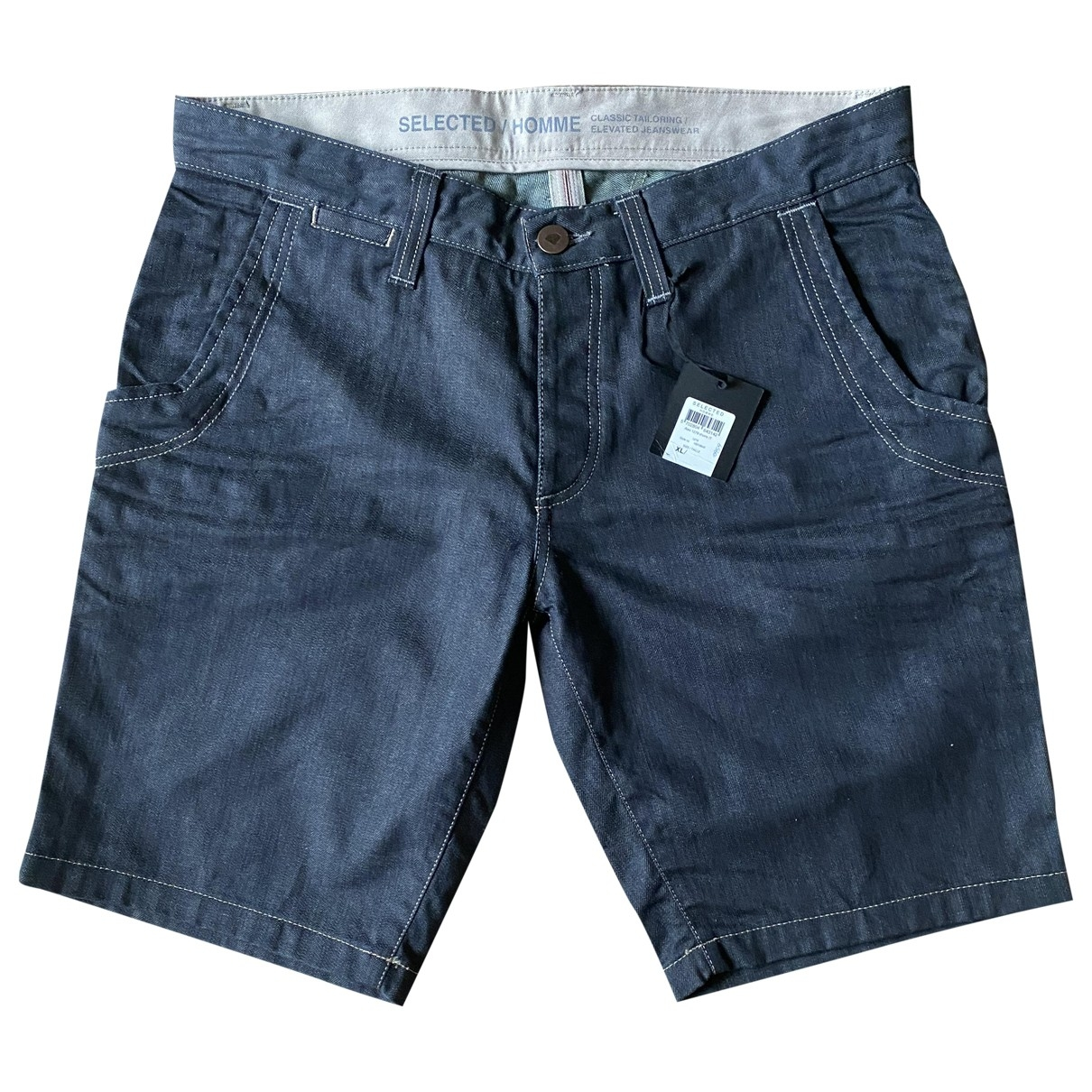 Selected \N Blue Cotton Jeans for Men 33 US