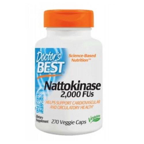 Nattokinase 270 Veggie Caps by Doctors Best