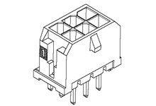 Molex , Micro-Fit 3.0, 43045, 22 Way, 2 Row, Vertical PCB Header (576)