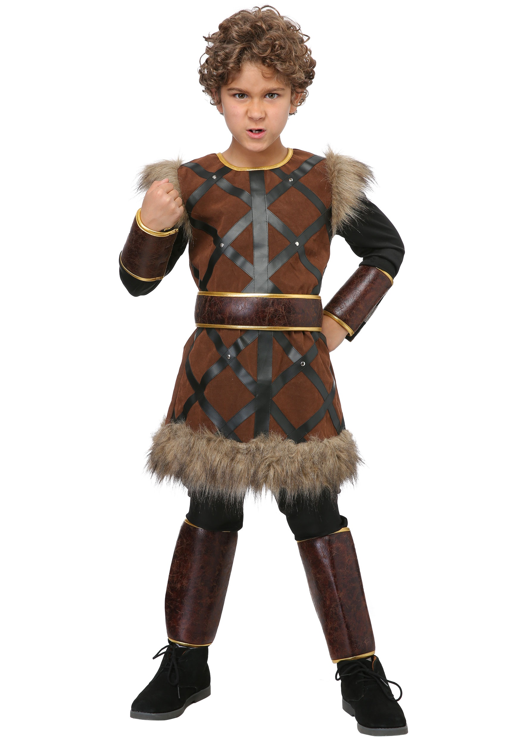 Fighting Viking Costume for Boys