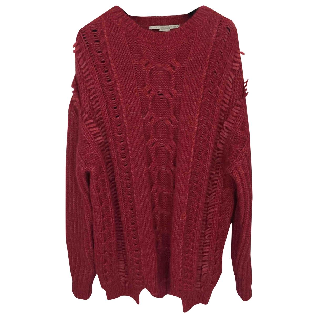 Stella Mccartney - Pull   pour femme en laine - rose