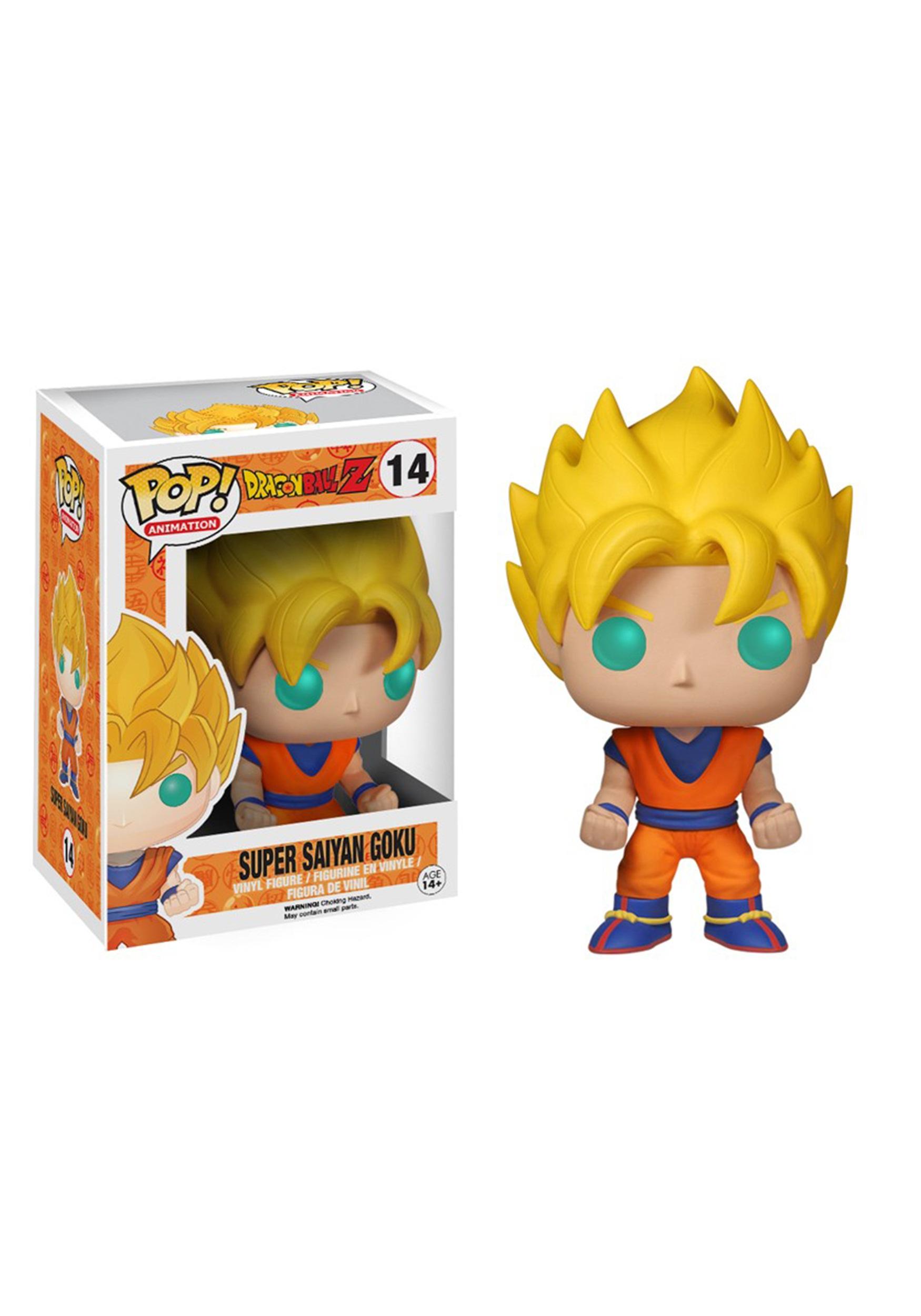 Animation: Dragon Ball Z - Super Saiyan Goku POP!
