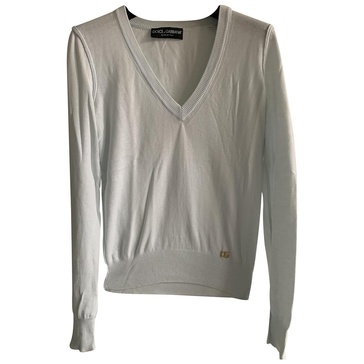 Dolce & Gabbana - Pull   pour femme en coton