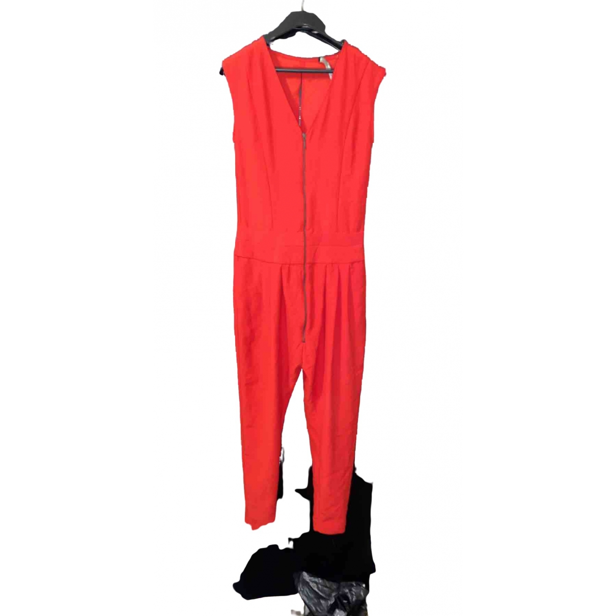 Zara \N Red jumpsuit for Women 38 FR