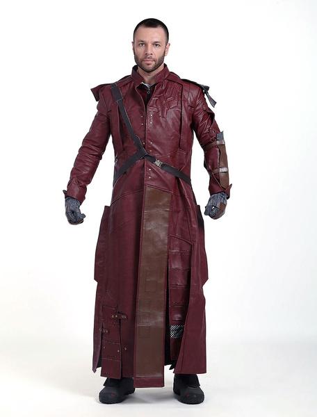 Milanoo Marvel Comics 2020 Guardians Of The Galaxy 2 Star Lord Peter Jason Quill Cosplay Jacket Full Set Halloween
