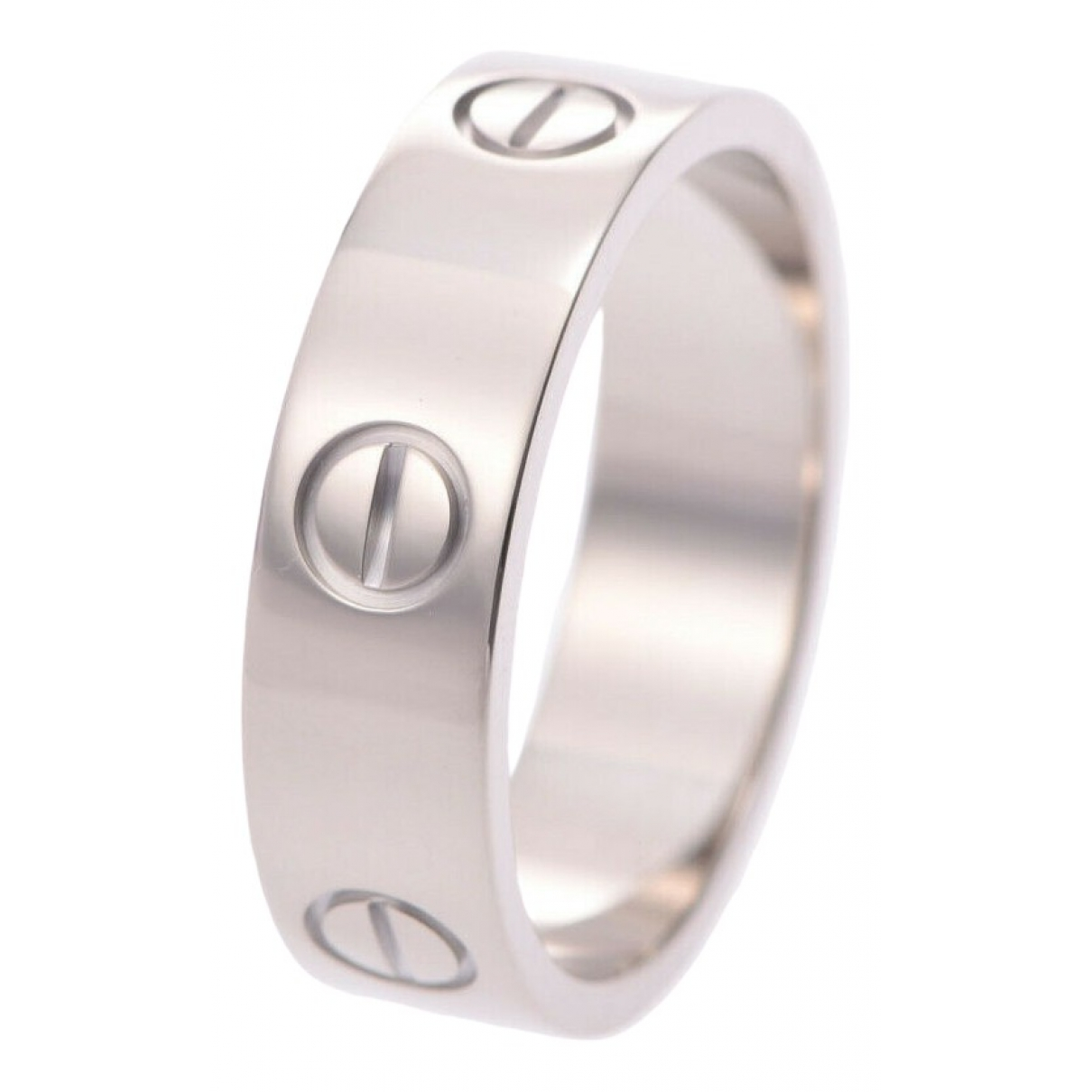 Cartier Love Ring in  Silber Weissgold