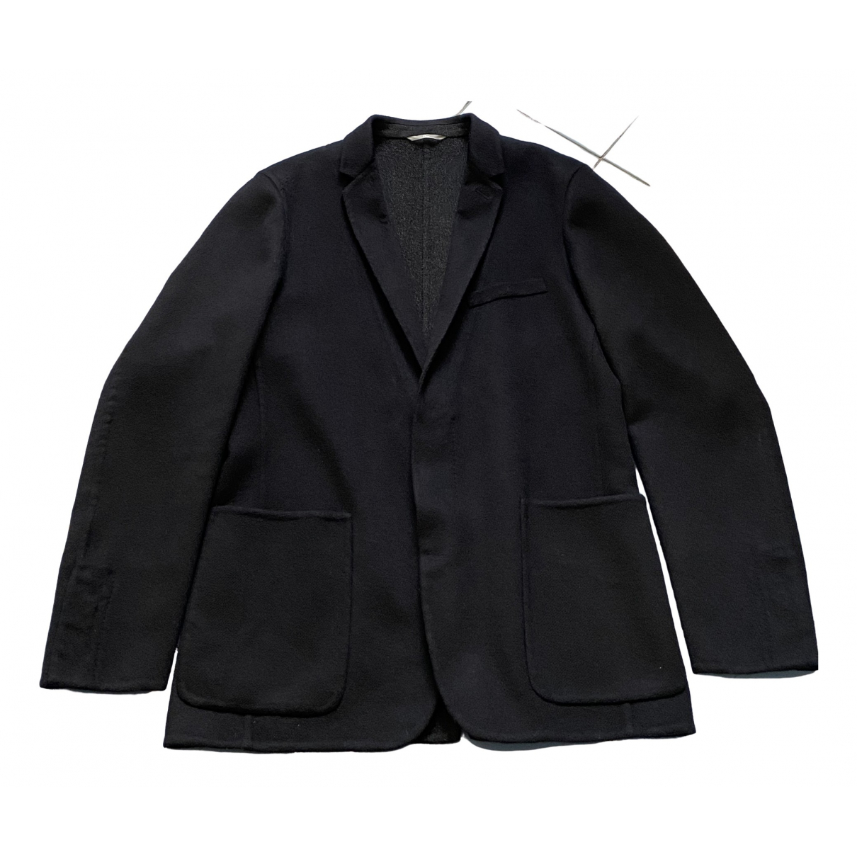Dior Homme \N Navy Cashmere coat  for Men 48 FR