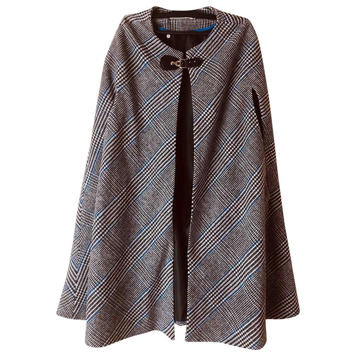 Ippocampo - Manteau   pour femme en laine - multicolore