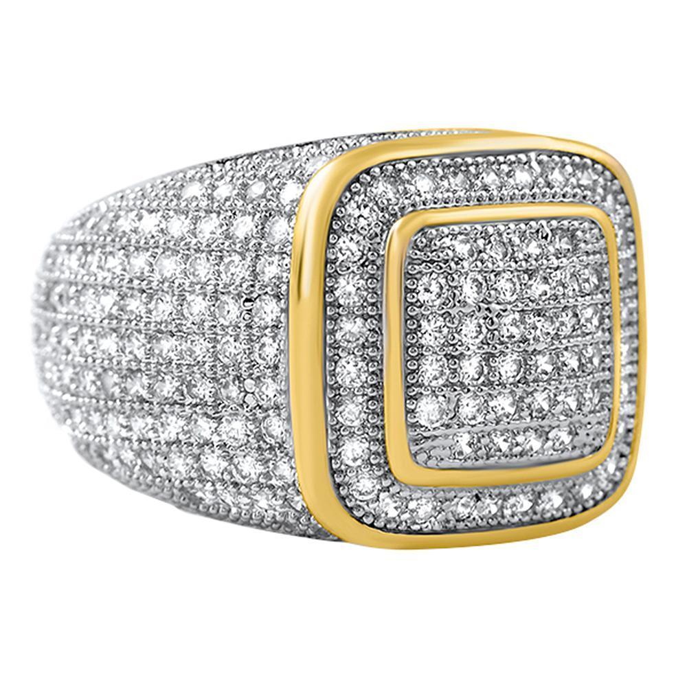 Classy Gold CZ Ring