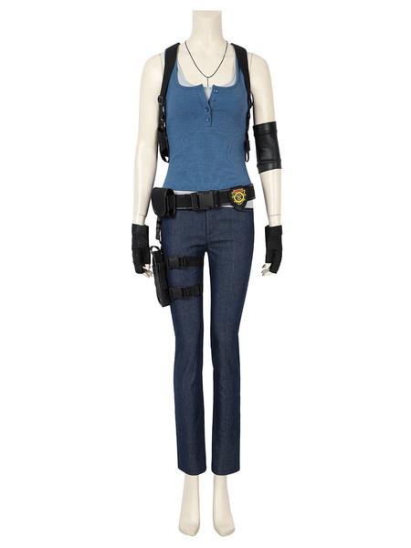 Milanoo Resident Evil Jill Valentine Cosplay Costume