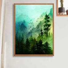 Forest Pattern Diamond Painting