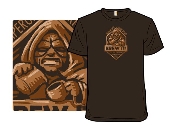 Emperor's Dark Roast Coffee T Shirt