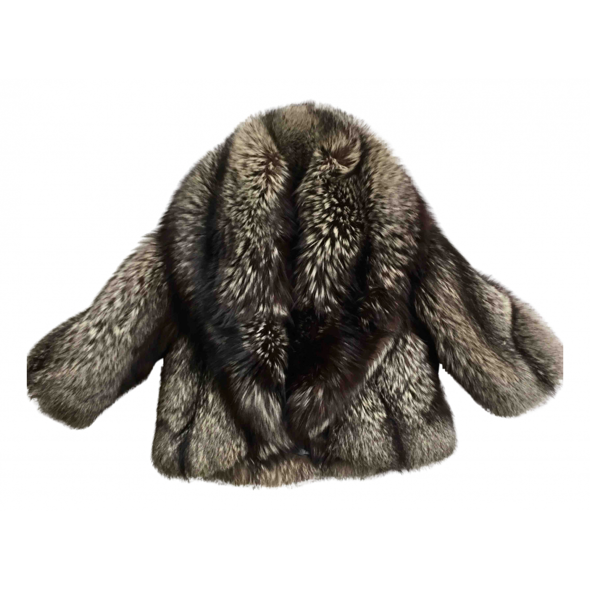 Non Signé / Unsigned N Silver Fox jacket for Women 44 IT
