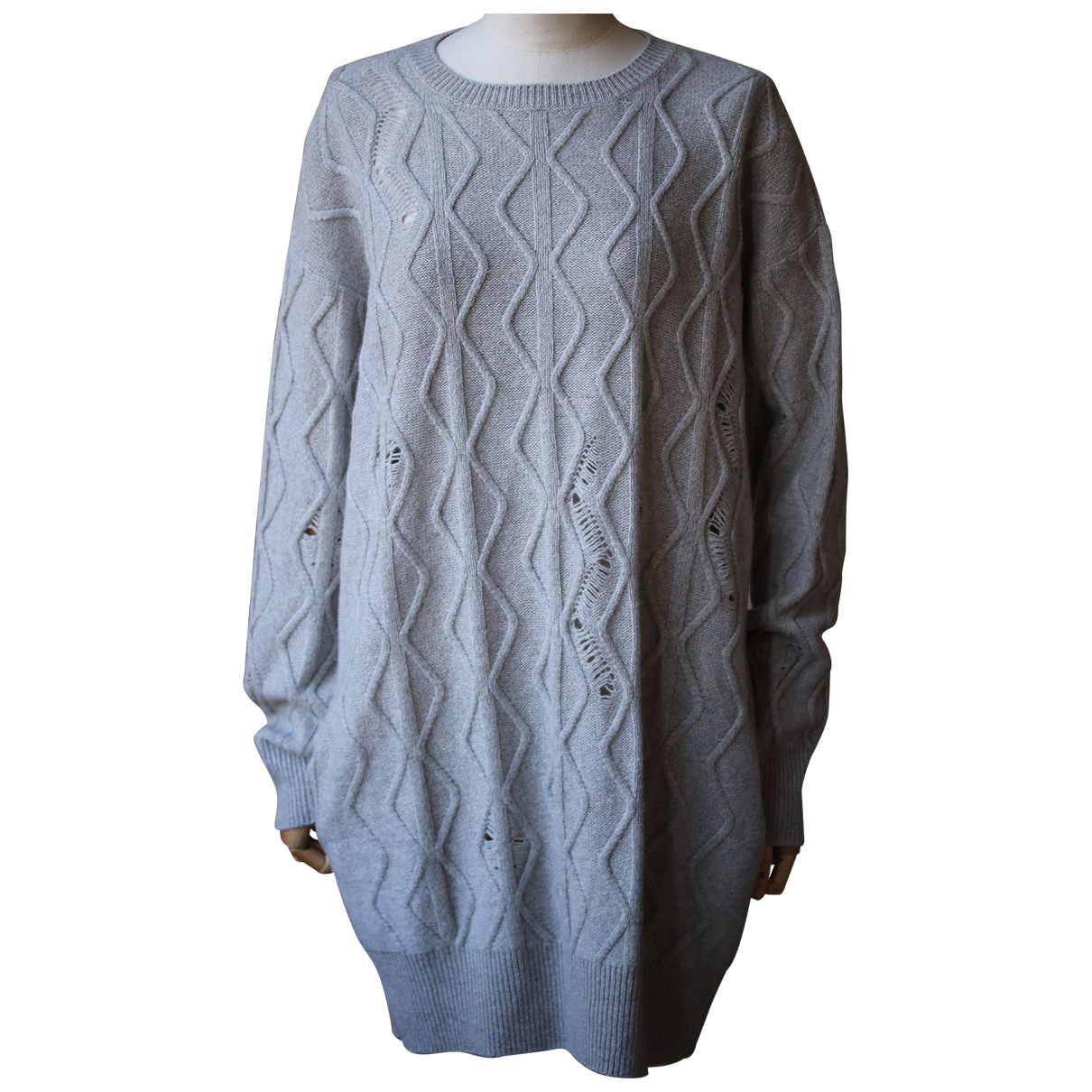 Stella Mccartney - Robe   pour femme en cachemire - gris