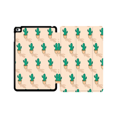 Apple iPad mini 4 Tablet Smart Case - Cactus Pot von caseable Designs