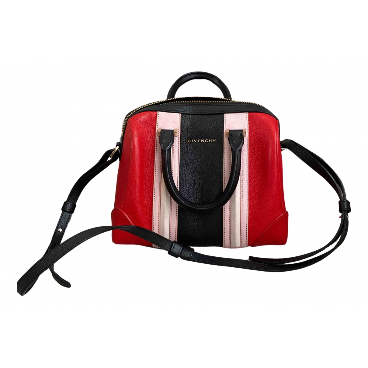 Givenchy Lucrezia Red Leather handbag for Women \N