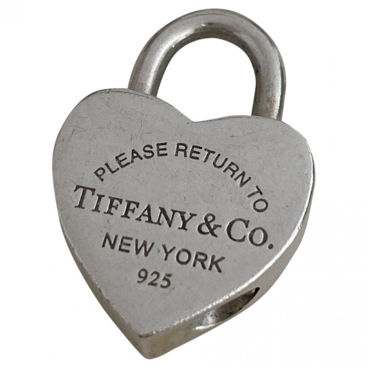 Tiffany & Co Return to Tiffany Silver Silver pendant for Women \N