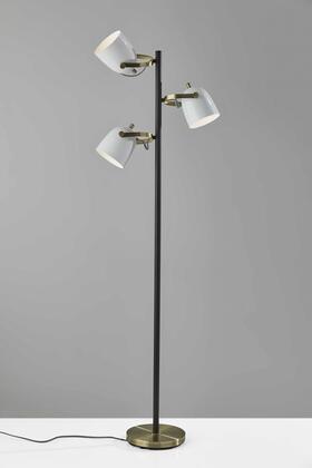 372598 HomeRoots 21 X 10 X 64.5 Metal Tree Lamp in