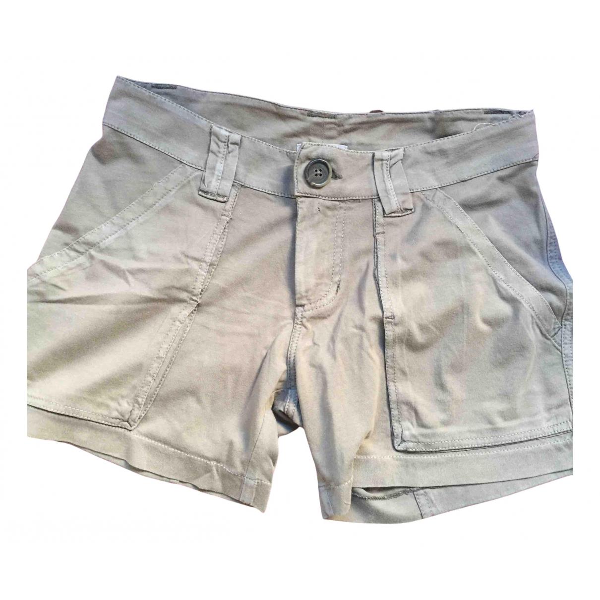 James Perse \N Shorts in  Khaki Baumwolle