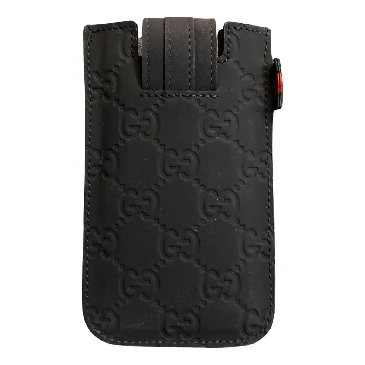 Gucci - Accessoires   pour lifestyle en suede - noir