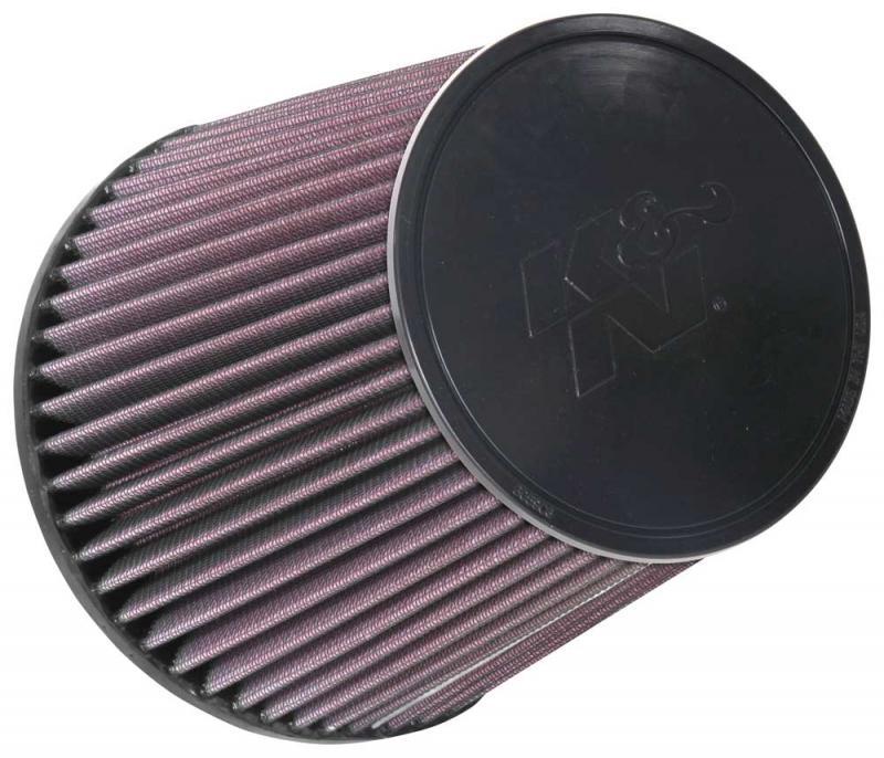 K&N RU-1037 Universal Clamp-On Air Filter