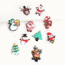 10pcs Baby Christmas Tree Design Hair Clip