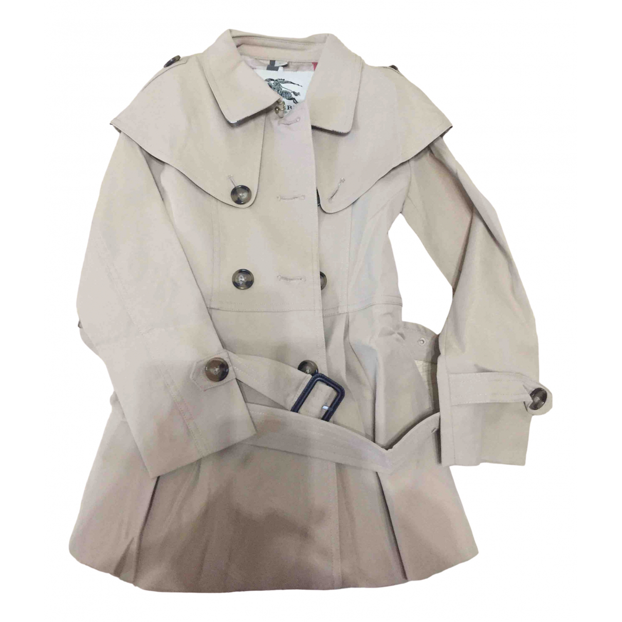 Burberry \N Brown Cotton jacket & coat for Kids 6 years - up to 114cm FR